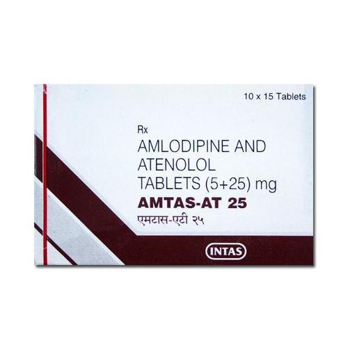 Amlodipine + Atenolol Tablets