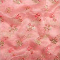 Embroidered Tissue Printed Fabrics