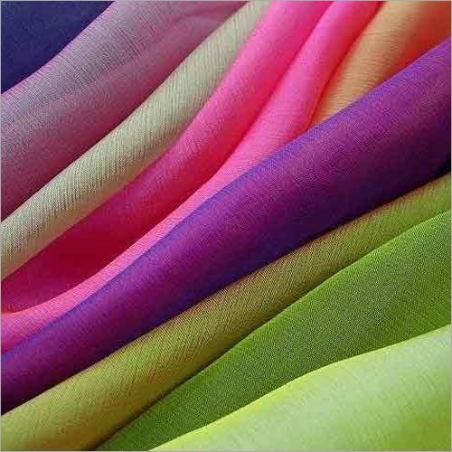 Plain Dyed Chiffon Fabrics