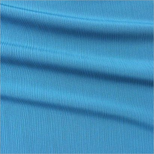 Blue Color Plain Polyester Fabrics