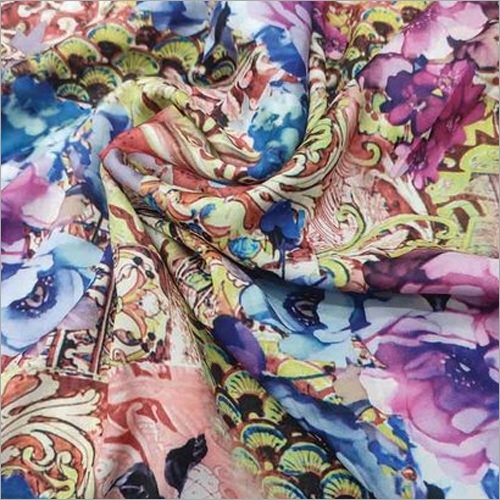 Plain Printed Japani Satin Fabrics