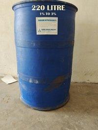 (1% To 3% )  220 Litre Sodium Hypochlorite Solution