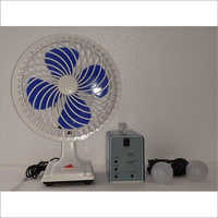 Solar Home Light Kit With Fan