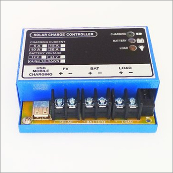 Solar Charge Controller With USB Mobile Charging