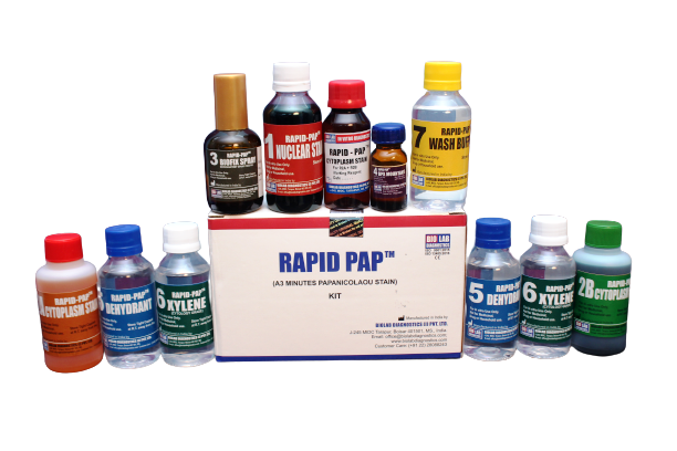 Rapid pap Cytoplasm Stain - A