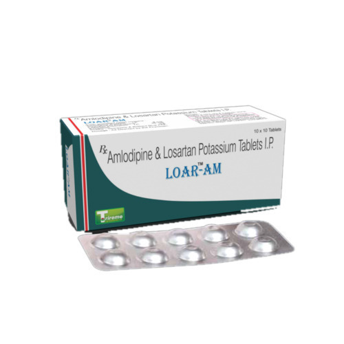 Amlodipine and Losartan Potassium Tablet
