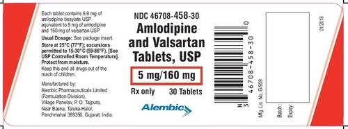 Amlodipine and Valsartan Tablets