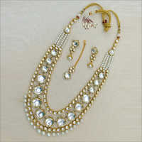Raani Haar Necklace with earring and maangtikka