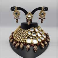 Sabyasachi Style Kundan Choker Necklace set