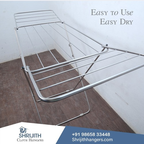 STAINLESS STEEL CLOTH DRYING STANDS IN  ERODE