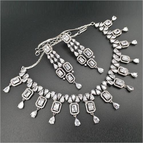 Diamond Necklace Earring