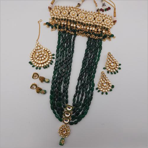 Anushka Style Bridal Necklace with Earring