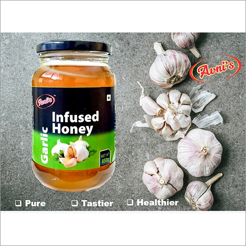 Infused Garlic Honey