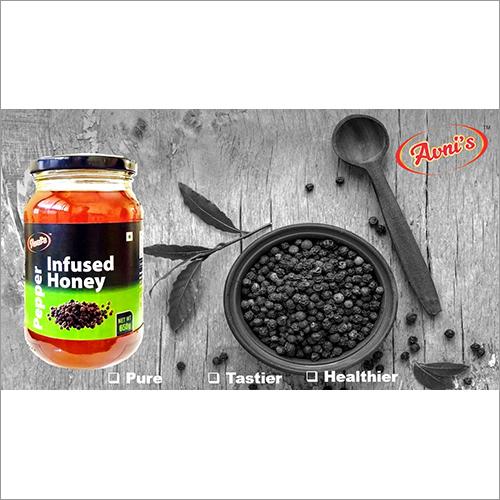 Infused Pepper Honey
