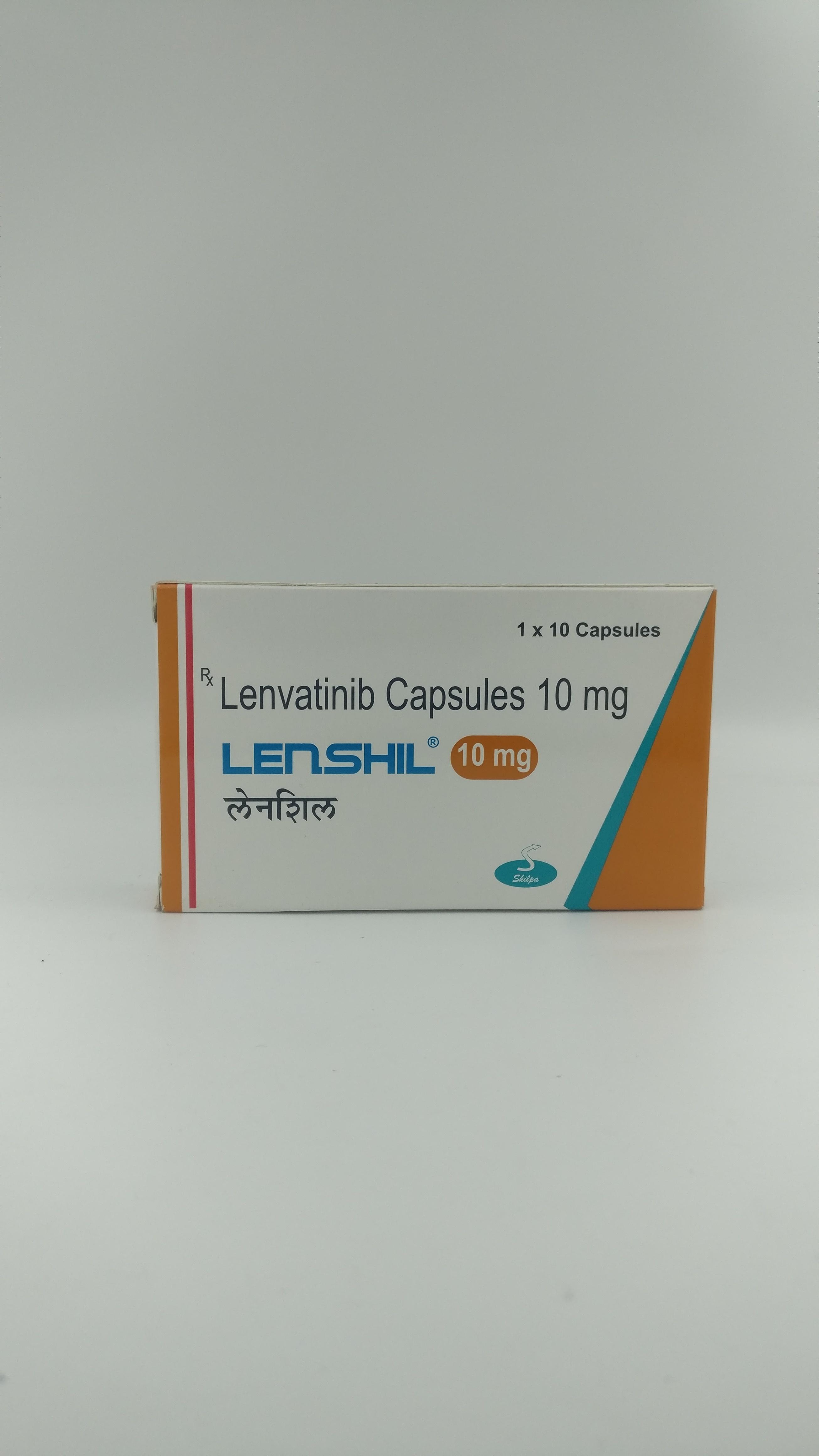 Lenshil 10 mg Capsule (Lenvatinib (10mg))