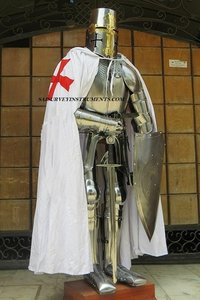 Medieval Suit of Armor New KNIGHT Armour Wearable With Shield & Sword Full Body