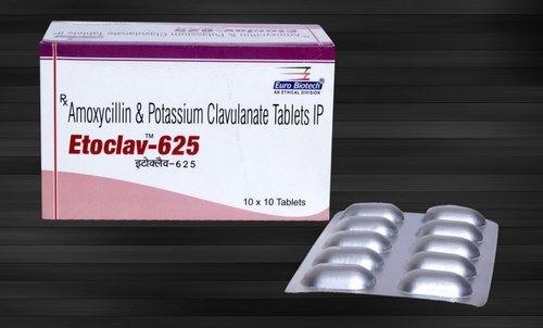 Amoxicillin + Clavulanate potassium Tablets