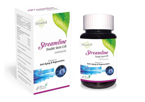 Streamline Double Stem Cell 30 Veg Capsule