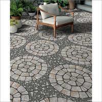 Mosaic Gray Parking Tiles