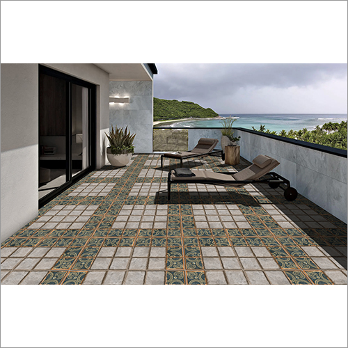 Moss Vitrified Parking Tiles