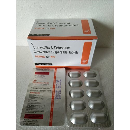 Amoxicillin and Clavulanate Potassium Disp. Tablets