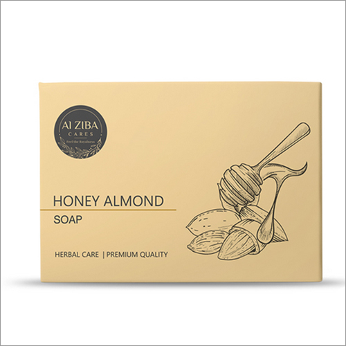 Herbal Bath Soap Almond Oil Honey
