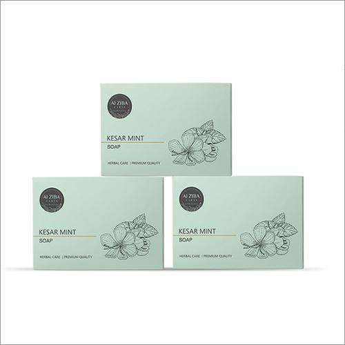 Kesar Mint Herbal Bath Soap Combo Pack 3*100gm