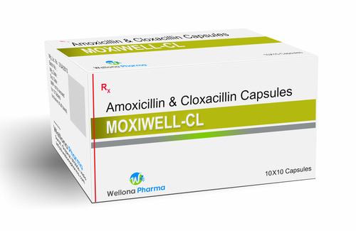 Amoxicillin and Cloxacillin Capsules