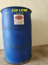 ( 1% to 3% ) 220  LITERS SODIUM HYPOCHLORITE SOLUTION