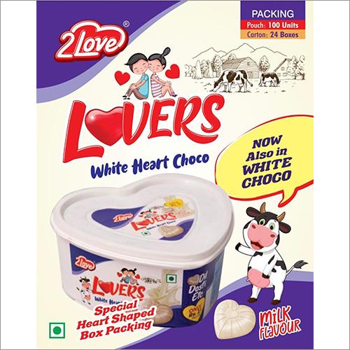 Lovers Heart - Milk Chocolates