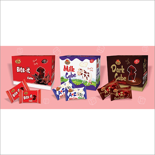 A to Z Cube Chocolates