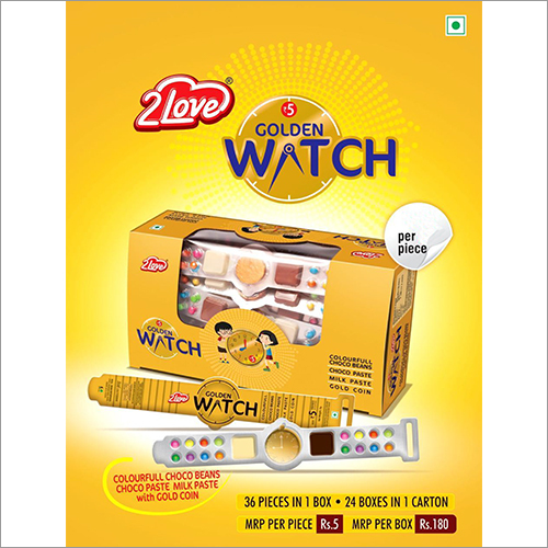 Golden Watch Liquid Chocolates