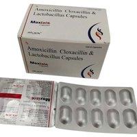 Amoxicillin and Cloxacillin with Lactobacillus Capsules