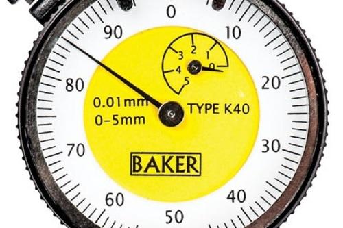 BAKER GAUGES K39 Plunger Dial Gauge MODEL 40