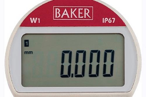 BAKER GAUGES Digital Plunger Dial WATERPROOF-IP67