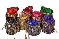 Kaanch Embroidered Potli