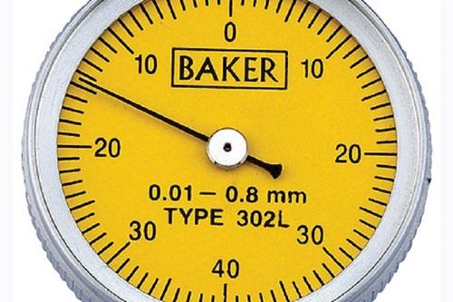 BAKER GAUGES  302L Lever Type Dial Gauge  MODEL 29/38 LONG STYLUS