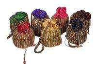 Beads Embroidered Potli Bag