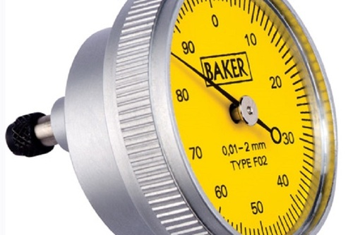 BAKER GAUGES F01 Back Side Plunger Dial Gauge -MODEL 38