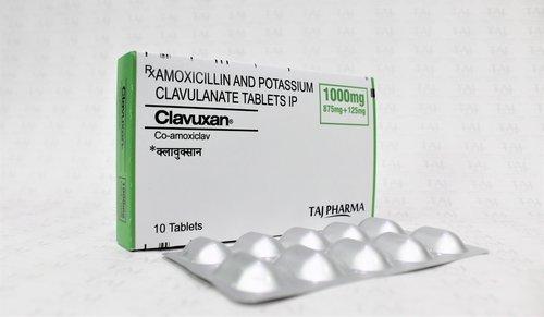 Amoxicillin and Potassium Clavulanate Tablets