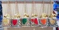 Embroidered Moti Potli Bag