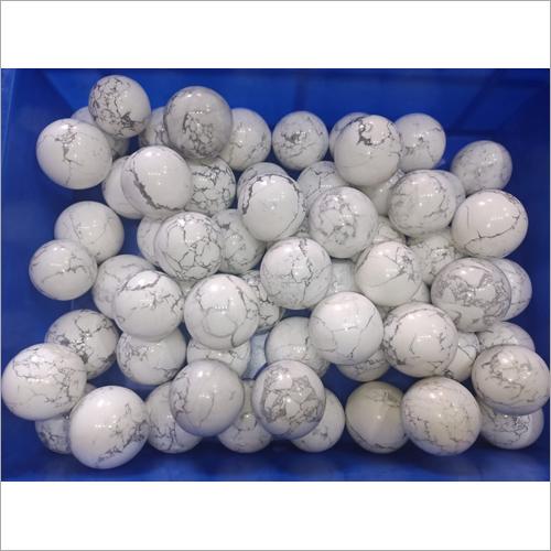 Howlite Ball Stone
