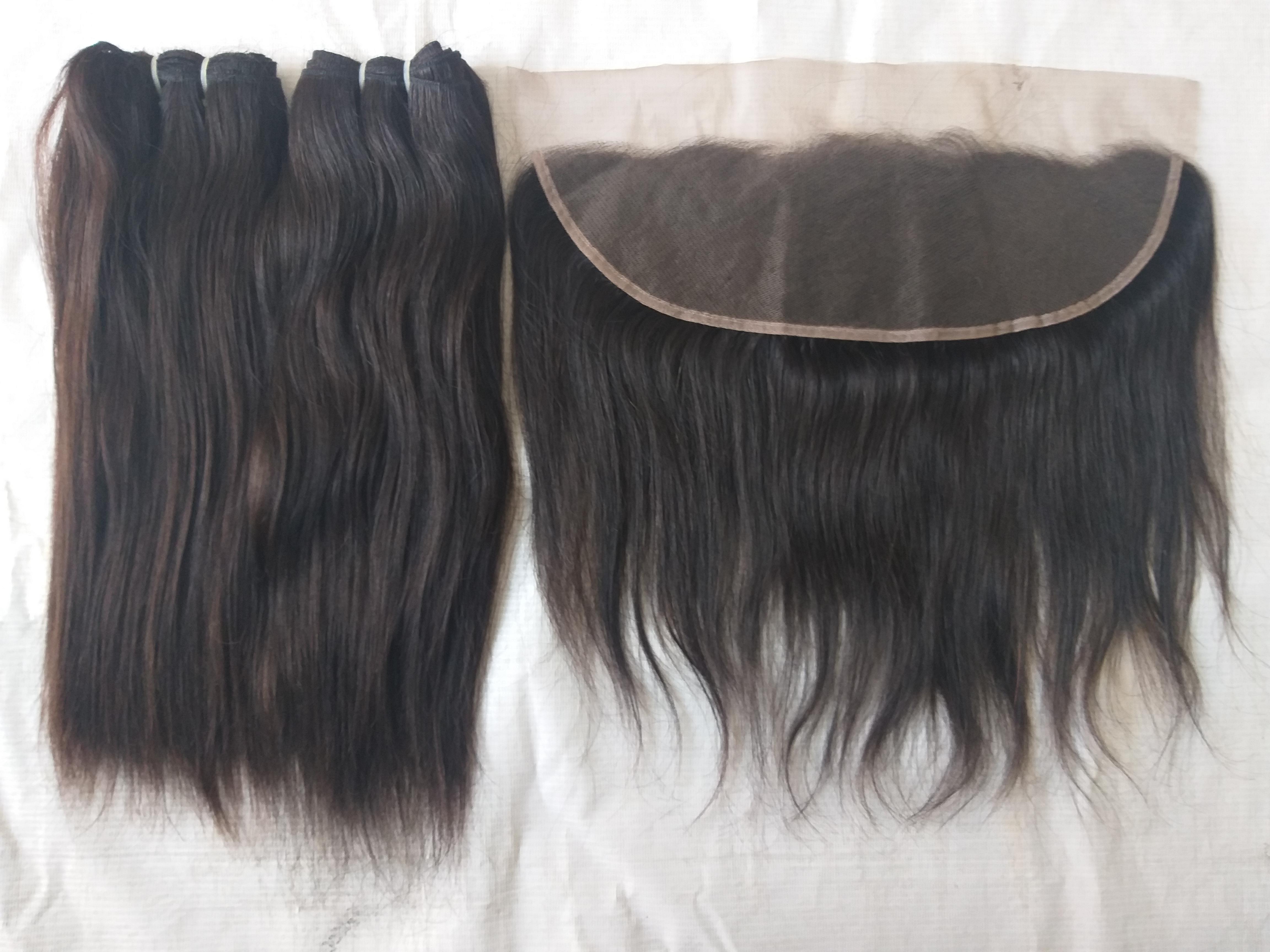 Unprocessed Straight Human Hair