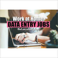 Work At Home Data Entry Jobs Services