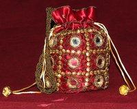 Handmade Embroidery Potli Bags