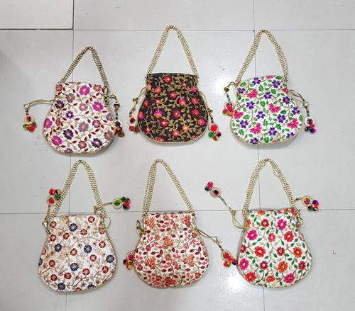 Embroidered Potli Bags From India