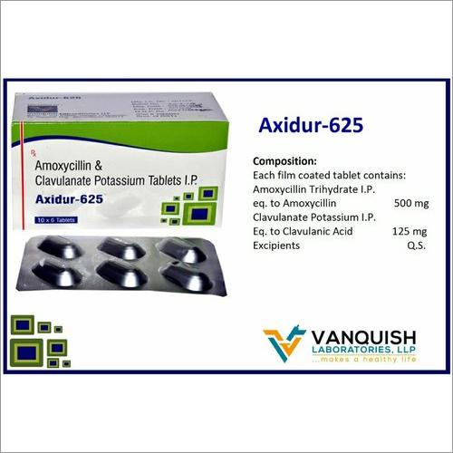 Amoxycillin And Clavulanate Potassium Tablets IP