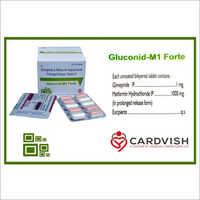 Glimepiride And Metformin Hydrochloride Release Tablets IP