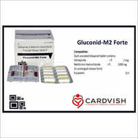 Glimepiride And Metformin Hydrochloride Prolonged Release Tablets IP