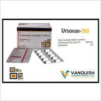 300 MG Ursodeoxycholic Acid Tablets IP
